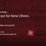 Der Feinsender – 014. Bild: ld/om.