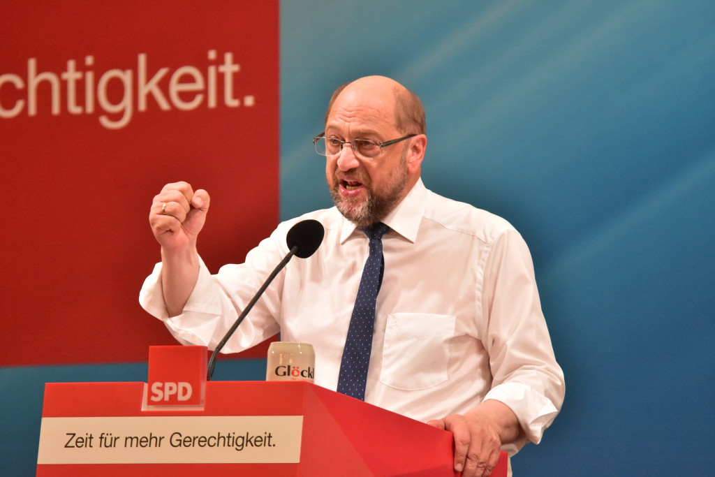 Glaubt an seine Kanzlerschaft: Martin Schulz. Bild: Staudinger