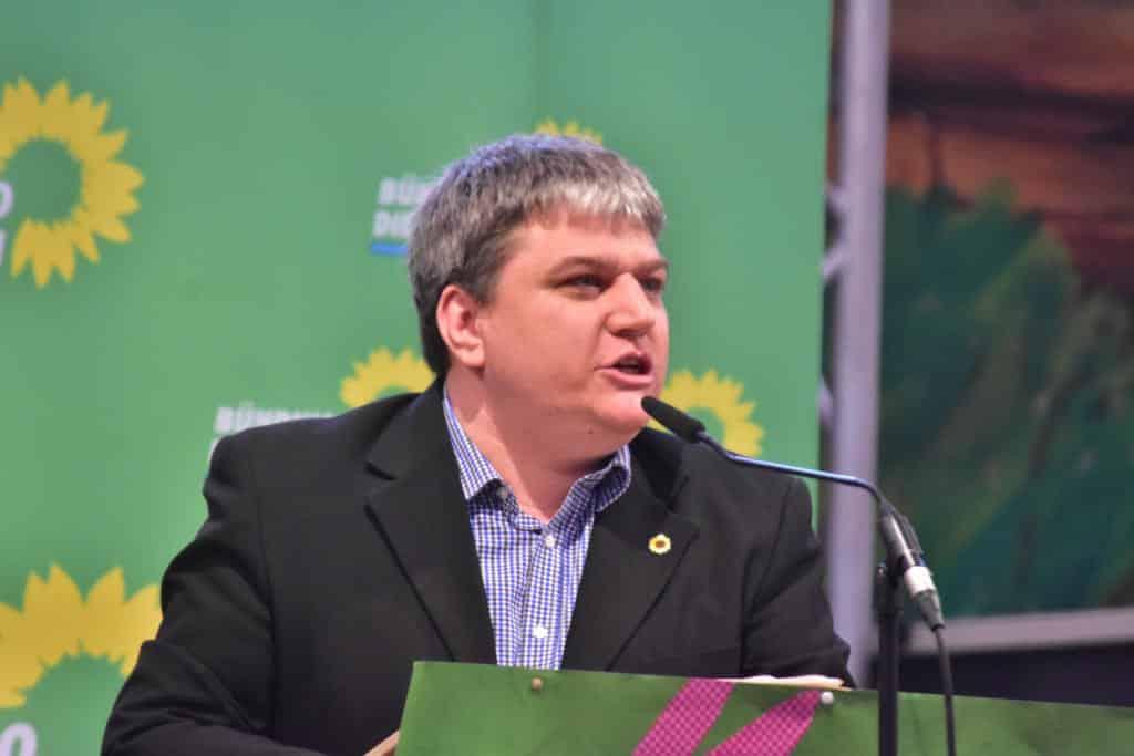 Direktkandidat Stefan Schmidt hat kaum Chancen auf einen Einzug in den Bundestag. Foto: Staudinger