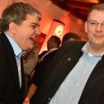 Bald Koalitionäre in Berlin? Stefan Schmidt und Ulrich Lechte. Foto: Staudinger