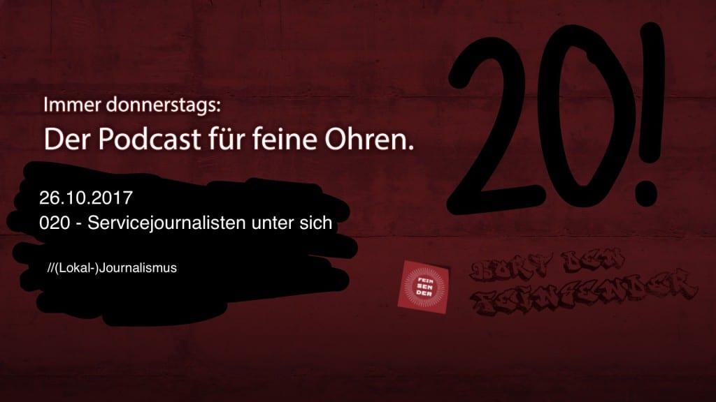 Der Feinsender, 020 - Servicejournalisten unter sich. Bild: ld/om.