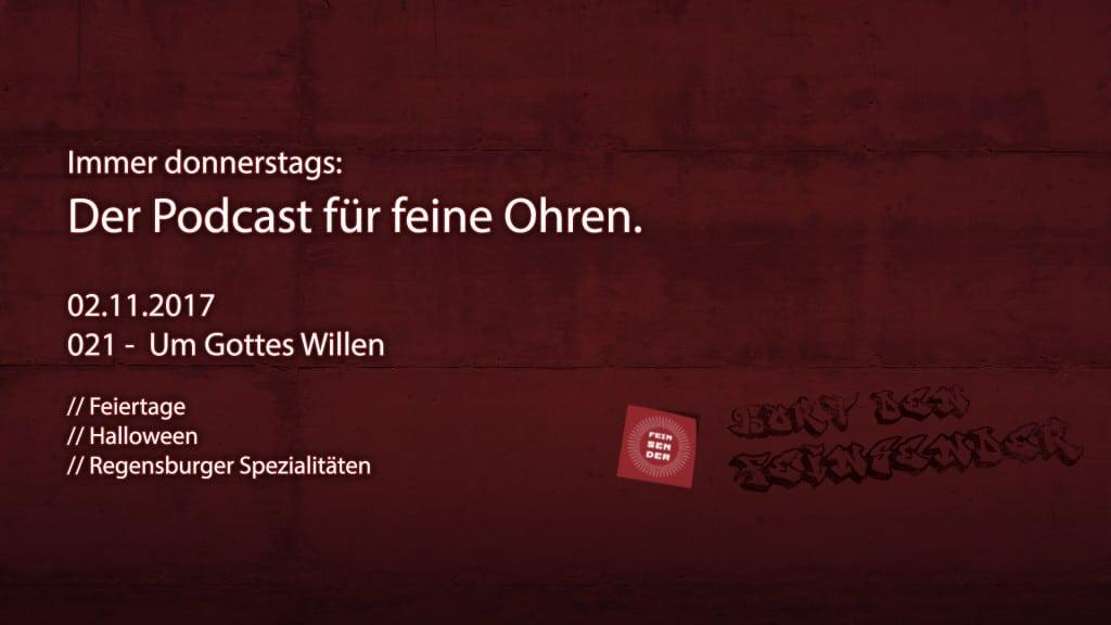 Der Feinsender, 021 - Um Gottes Willen. Bild: ld/om.