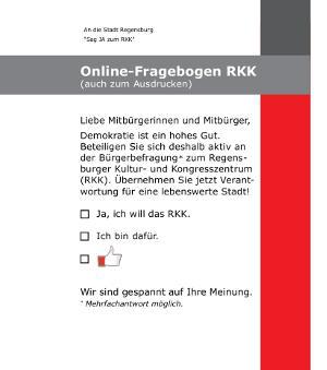 """Die etwas andere Bürgerbefragung von """"Touristifikation Regensburg""""."""