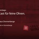 Der Feinsender, 022 - Neues aus Donnerberge. Foto: ld/om.