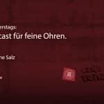 Der Feinsender, Folge 025 - Mit ohne Salz. Bild: ld/om.