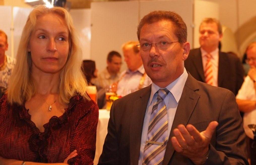 Haben ihren Kreisverband (wieder) im Griff: Irmgard Freihoffer und Richard Spieß. Foto: Archiv/ Staudinger