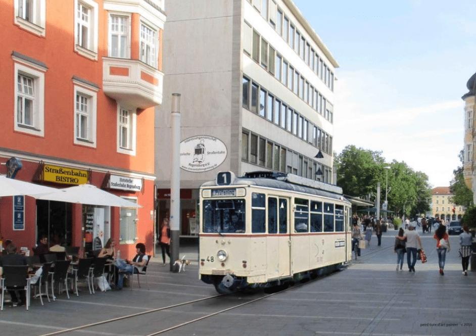 historische Straßenbahn » Regensburg Digital